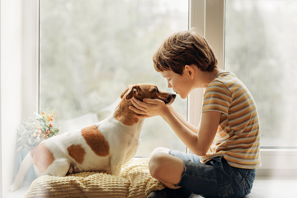 are jack russells good with kids